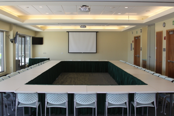 The well conference room layouts